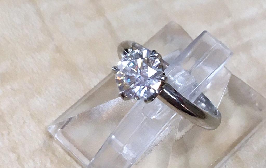 事例1-1ダイヤモンドリング