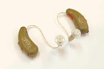 デモ版補聴器